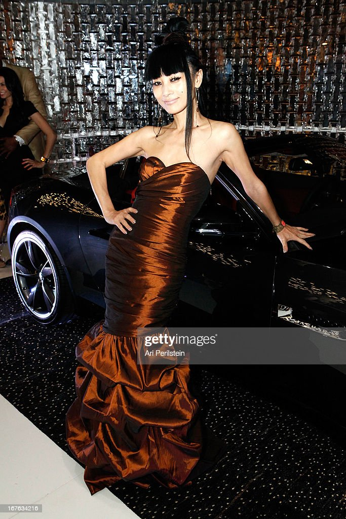 Actress Bai Ling attends Christopher Guy Britweek Event Honoring Jaguar Creative Director Ian Callum at Christopher Guy Beverly Hills on April 27, 2013 in Beverly Hills, California.
