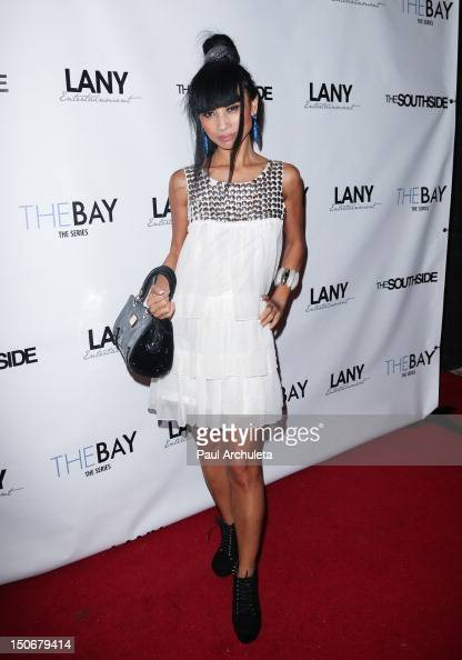 Actress Bai Ling attends Kristos Andrews red carpet Birthday celebration at Tru Night Club Hollywood on August 23 2012 in Hollywood California