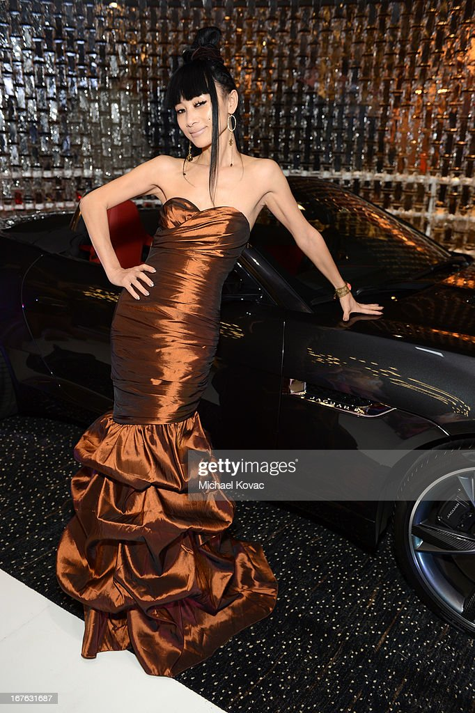 Actress <a gi-track='captionPersonalityLinkClicked' href=/galleries/search?phrase=Bai+Ling&family=editorial&specificpeople=201459 ng-click='$event.stopPropagation()'>Bai Ling</a> attends the BritWeek Christopher Guy event with official vehicle sponsor Jaguar on April 26, 2013 in Los Angeles, California.