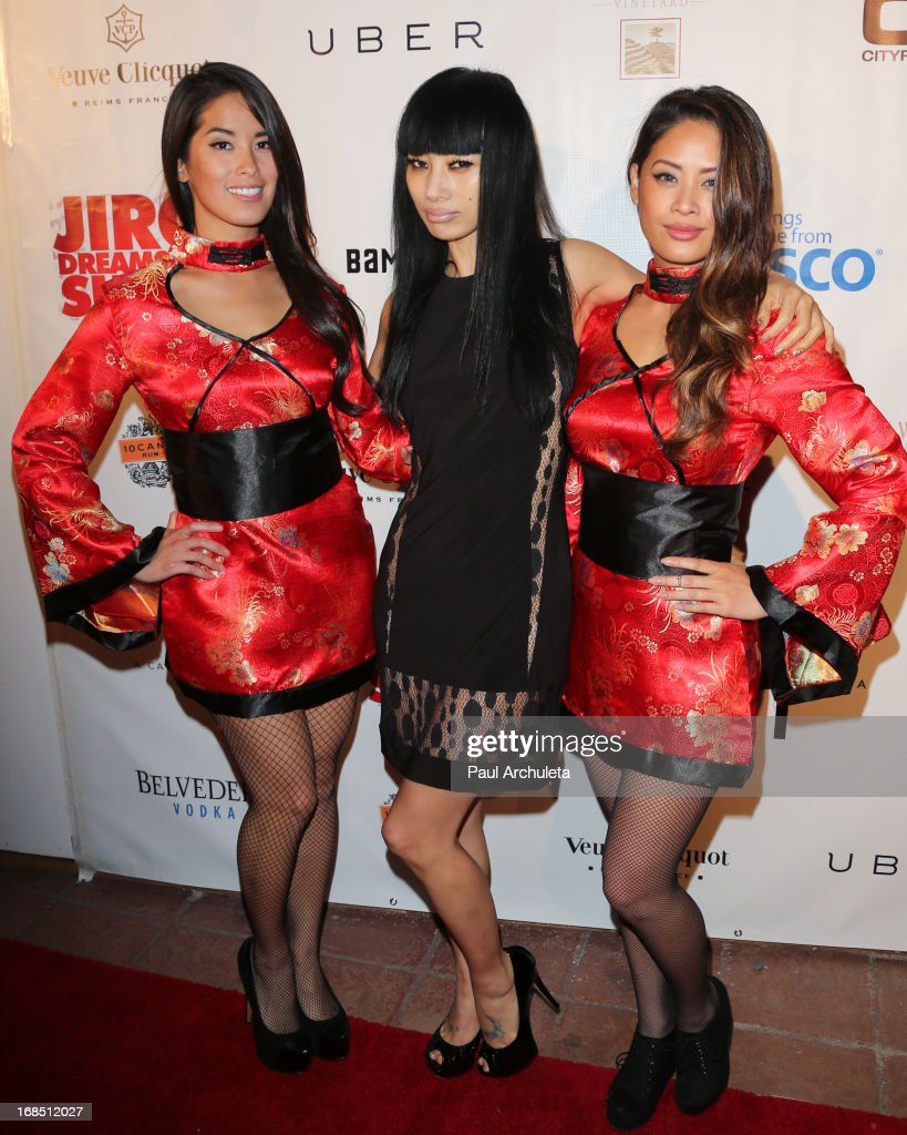 Actress <a gi-track='captionPersonalityLinkClicked' href=/galleries/search?phrase=Bai+Ling&family=editorial&specificpeople=201459 ng-click='$event.stopPropagation()'>Bai Ling</a> attends the grand opening of Bamboo Izakaya Restaurant at the Bamboo Izakaya Restaurant on May 9, 2013 in Santa Monica, California.