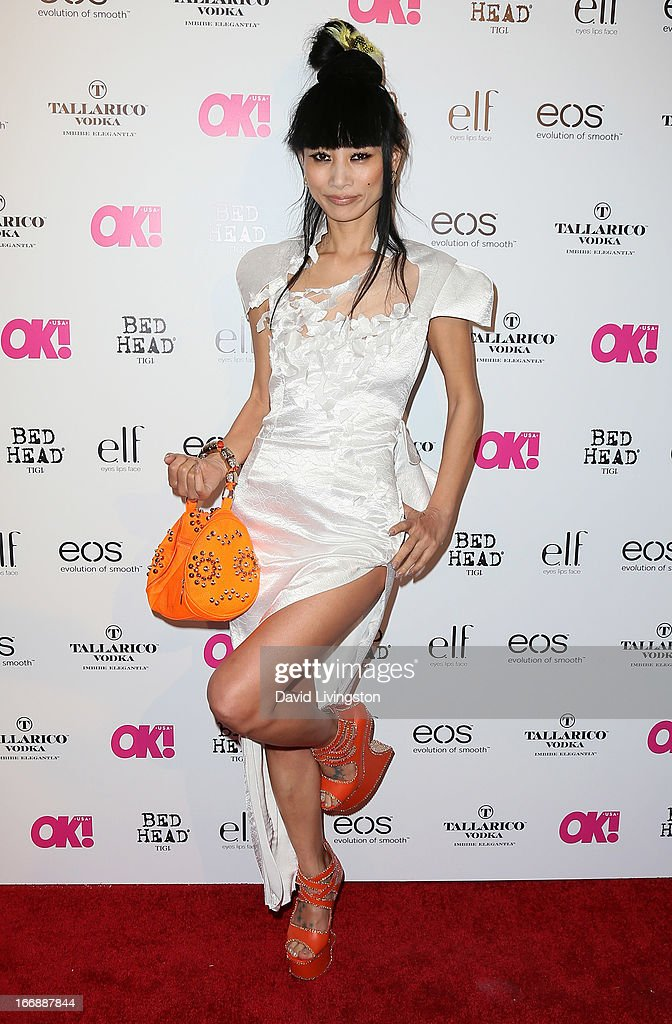 Actress Bai Ling attends the OK! Magazine 'So Sexy' LA party at SkyBar at the Mondrian Los Angeles on April 17, 2013 in West Hollywood, California.