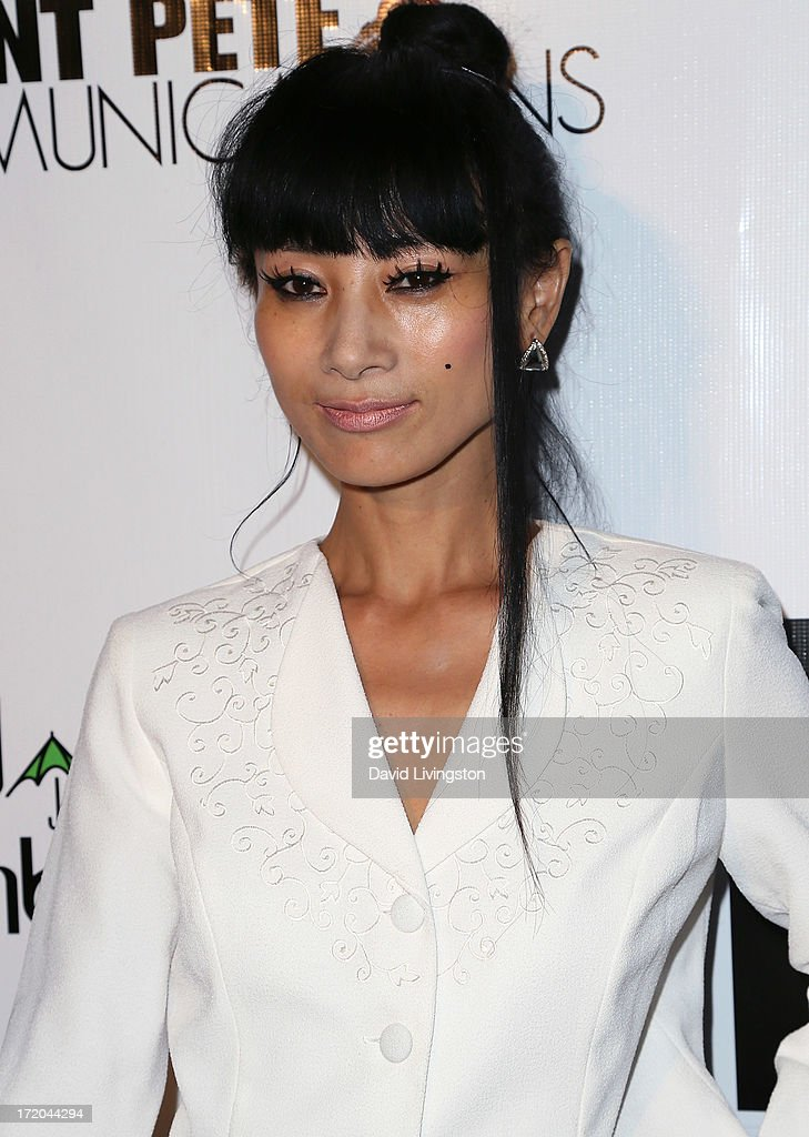 Actress <a gi-track='captionPersonalityLinkClicked' href=/galleries/search?phrase=Bai+Ling&family=editorial&specificpeople=201459 ng-click='$event.stopPropagation()'>Bai Ling</a> attends the 'Party After' BET Awards 2013 hosted by Chris Brown and Nick Cannon at the Belasco Theater on June 30, 2013 in Los Angeles, California.