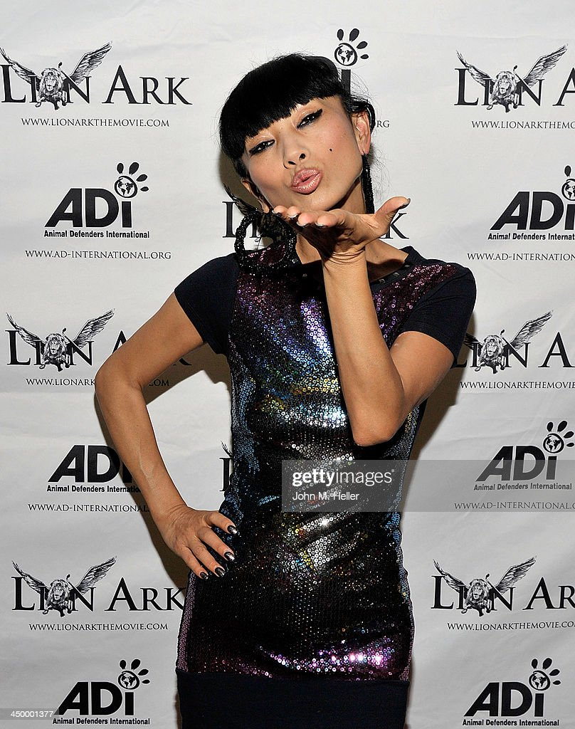 Actress <a gi-track='captionPersonalityLinkClicked' href=/galleries/search?phrase=Bai+Ling&family=editorial&specificpeople=201459 ng-click='$event.stopPropagation()'>Bai Ling</a> attends the premiere of 'Lion Ark' at the Charles Aidikoff Screening Room on November 15, 2013 in Beverly Hills, California.