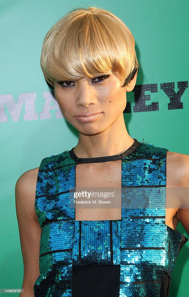 Actress <a gi-track='captionPersonalityLinkClicked' href=/galleries/search?phrase=Bai+Ling&family=editorial&specificpeople=201459 ng-click='$event.stopPropagation()'>Bai Ling</a> attends the Premiere of Magnolia Pictures' 'Marley' at the ArcLight Hollywood on April 17, 2012 in Hollywood, California.