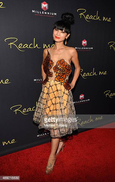 Actress Bai Ling attends the premiere of Millennium Entertainment's new film 'Reach Me' at Chinese 6 Theater Hollywood on November 18 2014 in...