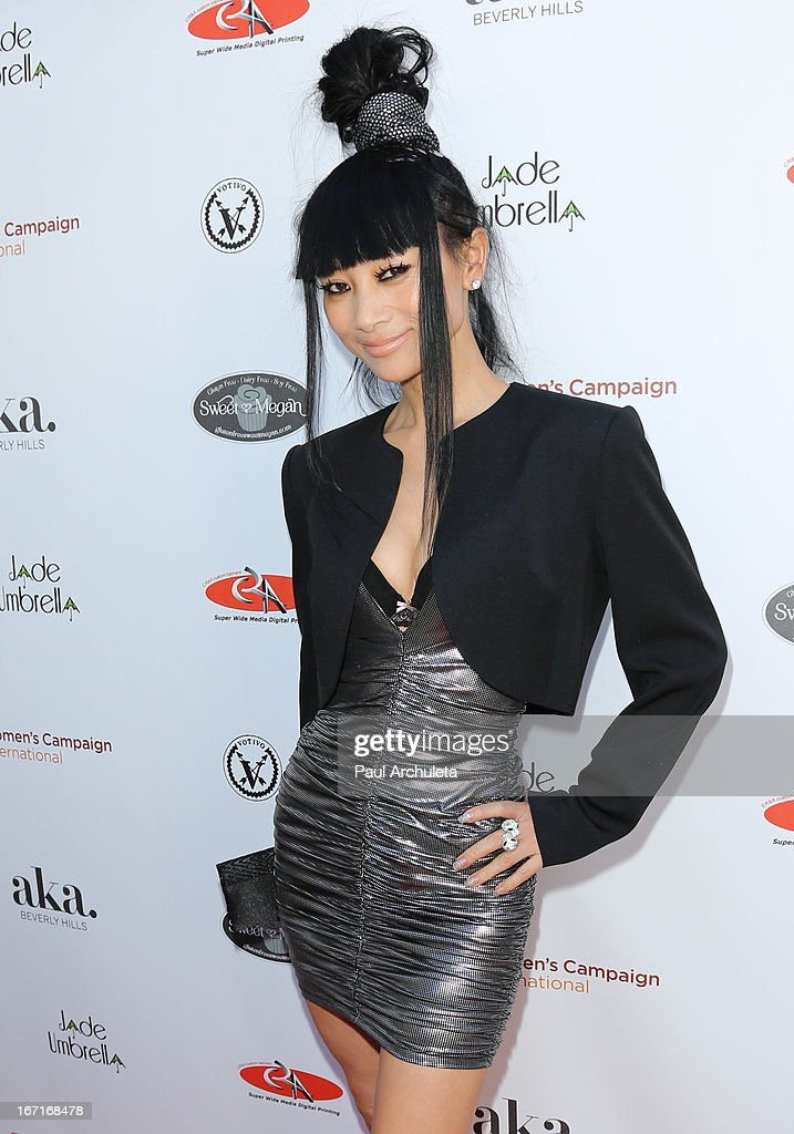 Actress Bai Ling attends the 'Spring To Make A Difference' fundraiser event on April 21, 2013 in Beverly Hills, California.