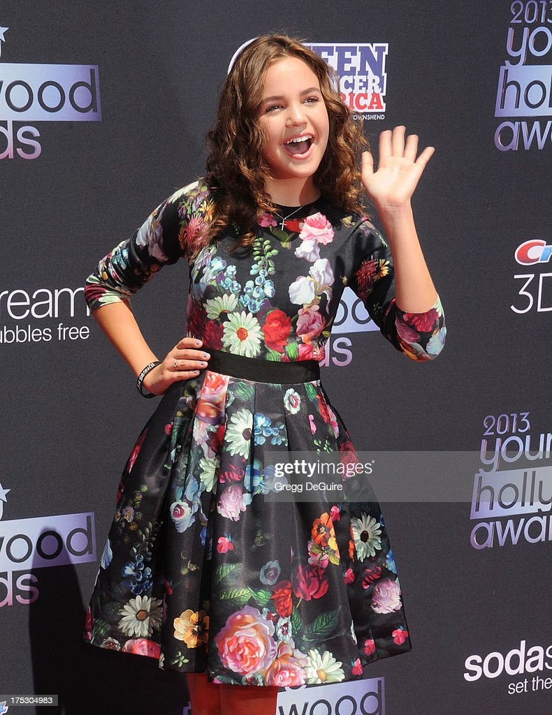 Actress Bailee Madison arrives at the 15th Annual Young Hollywood Awards at The Broad Stage on August 1 2013 in Santa Monica California