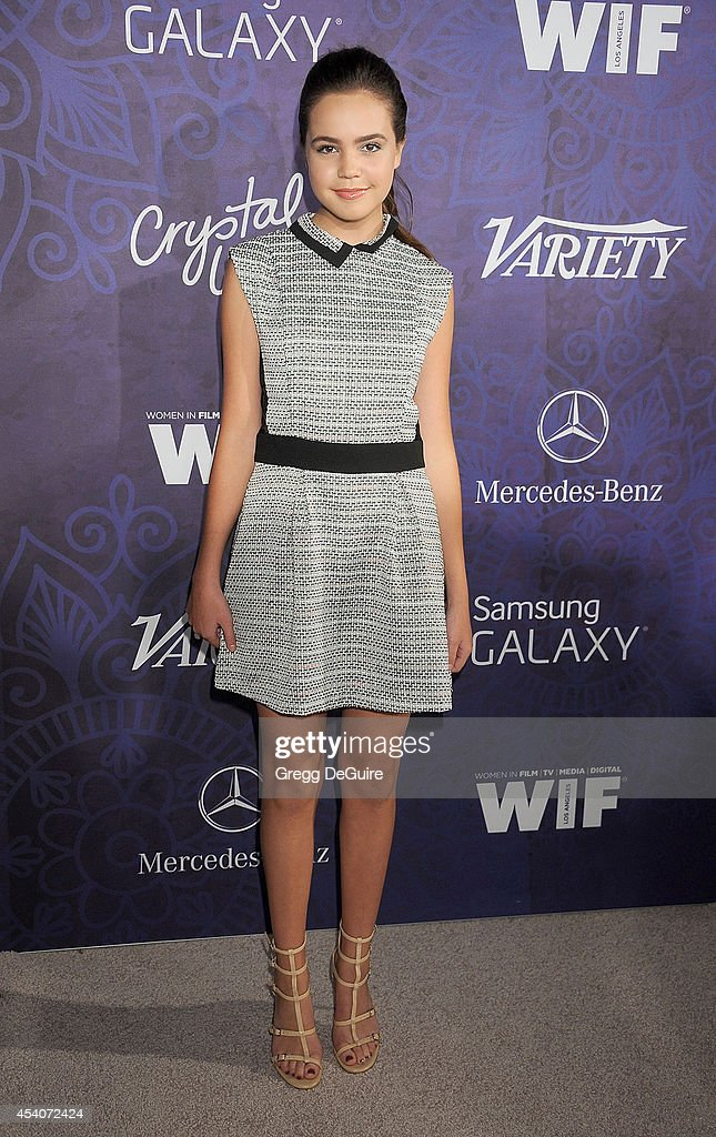 Actress <a gi-track='captionPersonalityLinkClicked' href=/galleries/search?phrase=Bailee+Madison&family=editorial&specificpeople=4136620 ng-click='$event.stopPropagation()'>Bailee Madison</a> arrives at the Variety And Women In Film Annual Pre-Emmy Celebration at Gracias Madre on August 23, 2014 in West Hollywood, California.