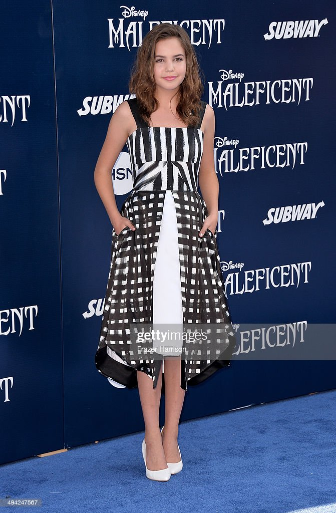 Actress <a gi-track='captionPersonalityLinkClicked' href=/galleries/search?phrase=Bailee+Madison&family=editorial&specificpeople=4136620 ng-click='$event.stopPropagation()'>Bailee Madison</a> arrives at the World Premiere Of Disney's 'Maleficent' at the El Capitan Theatre on May 28, 2014 in Hollywood, California.