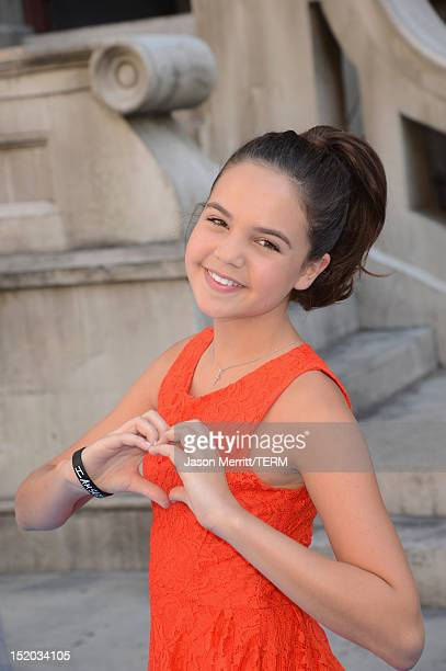 Actress Bailee Madison arrives at Variety's Power of Youth presented by Cartoon Network held at Paramount Studios on September 15 2012 in Hollywood...