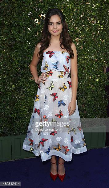 Actress Bailee Madison attends Hallmark Channel and Hallmark Movies and Mysteries at the 2015 Summer TCA Tour at a private residence on July 29 2015...
