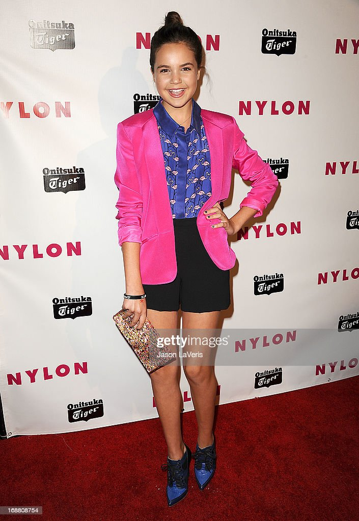 Actress Bailee Madison attends Nylon Magazine's Young Hollywood issue event at The Roosevelt Hotel on May 14, 2013 in Hollywood, California.