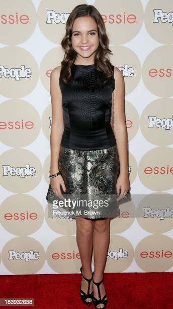 Actress Bailee Madison attends People's 'ONES To Watch Party' at Hinoki The Bird on October 9 2013 in Los Angeles California