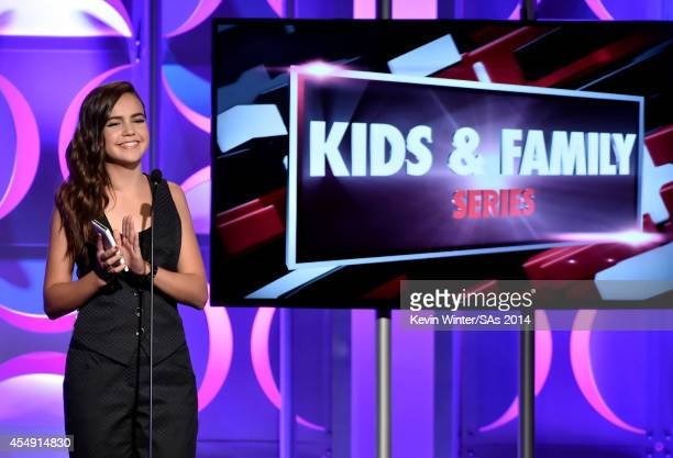 Actress Bailee Madison attends the 4th Annual Streamy Awards presented by CocaCola on September 7 2014 in Beverly Hills California
