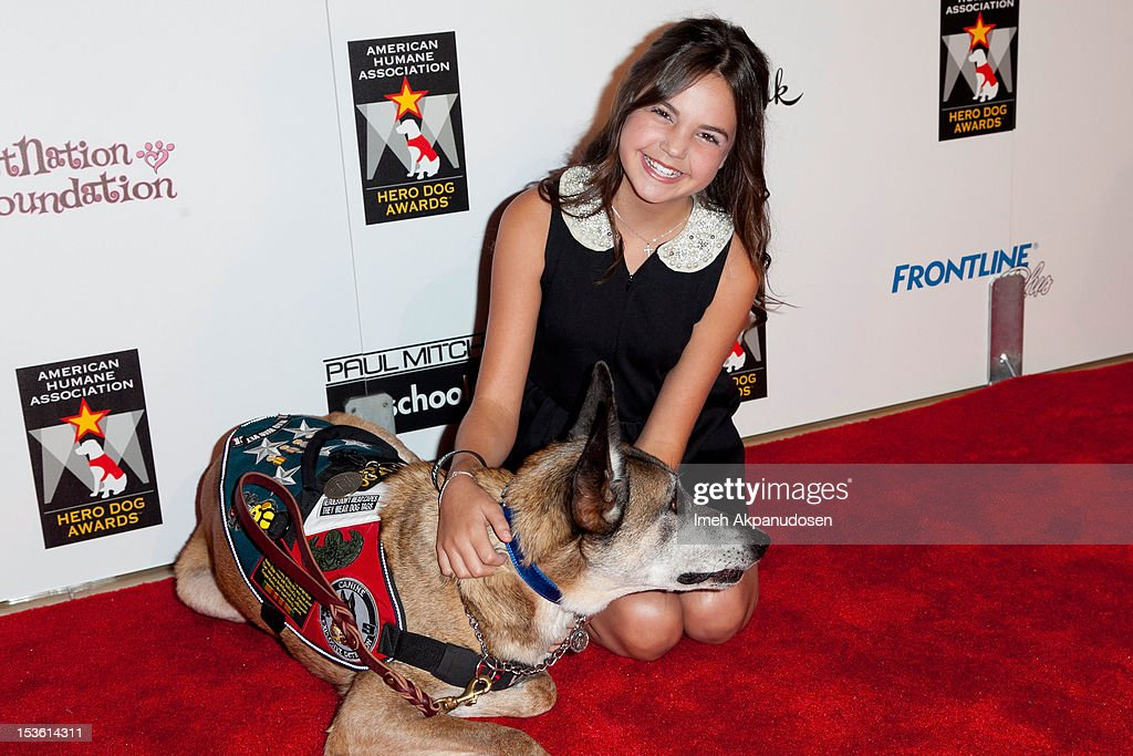 Actress Bailee Madison attends The American Humane Association's Hero Dog Awards on October 6, 2012 in Beverly Hills, California.