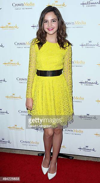 Actress Bailee Madison attends 'The Color of Rain' premiere screening presented by the Hallmark Movie Channel at The Paley Center for Media on May 28...