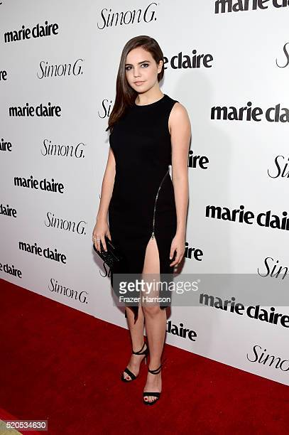 Actress Bailee Madison attends the 'Fresh Faces' party hosted by Marie Claire celebrating the May issue cover stars on April 11 2016 in Los Angeles...