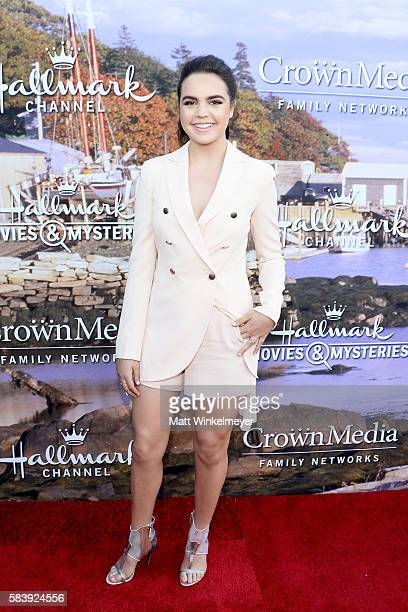 Actress Bailee Madison attends the Hallmark Channel and Hallmark Movies and Mysteries Summer 2016 TCA press tour event on July 27 2016 in Beverly...