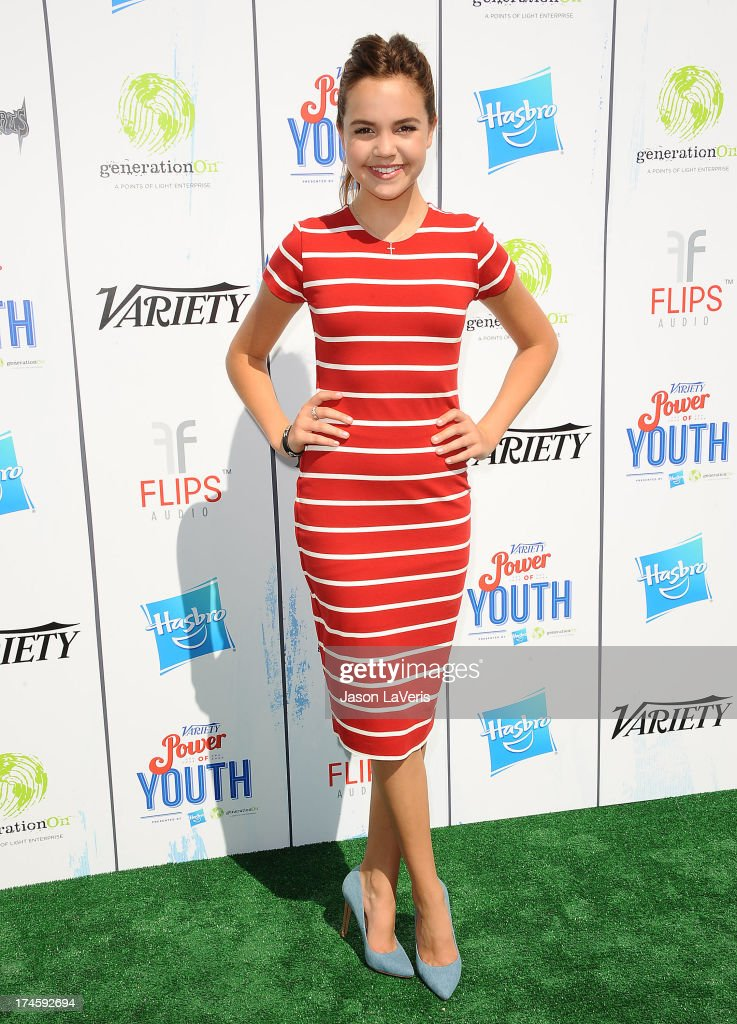 Actress Bailee Madison attends Variety's 7th annual Power of Youth event at Universal Studios Hollywood on July 27 2013 in Universal City California
