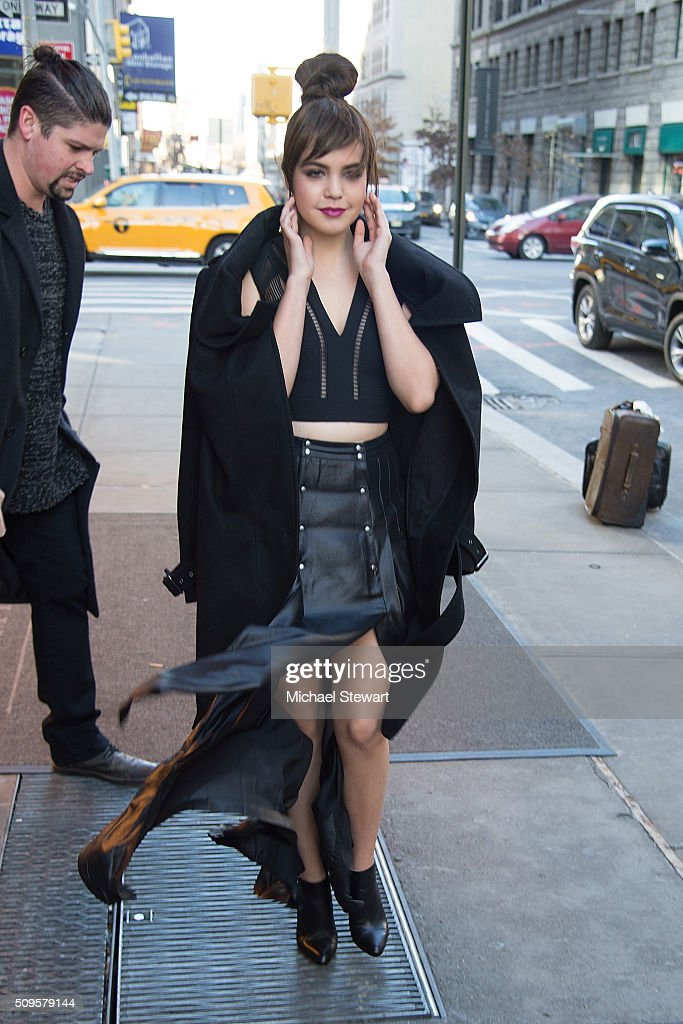 Actress Bailee Madison is seen at Trump SoHo on February 11, 2016 in New York City.