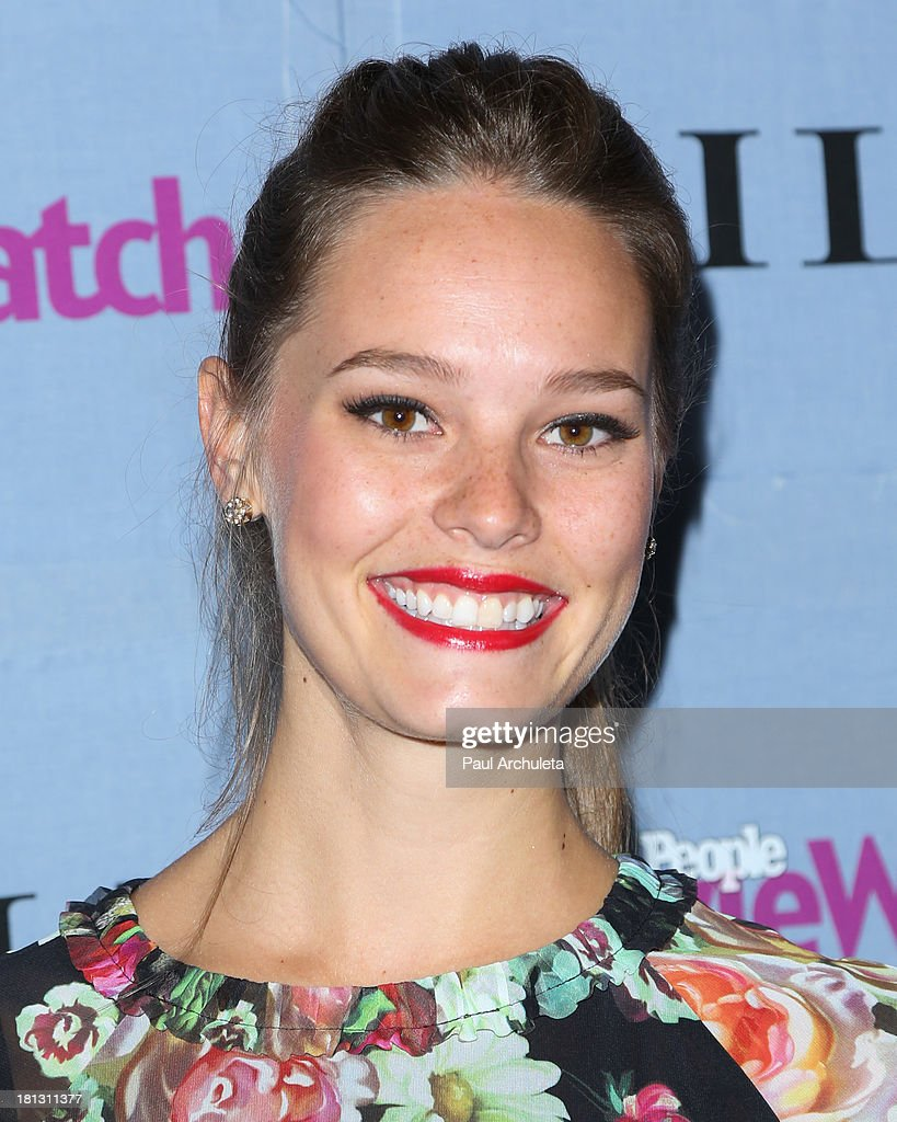 Actress Bailey Noble attends the People StyleWatch 3rd annual Denim Issue party at Palihouse on September 19, 2013 in West Hollywood, California.
