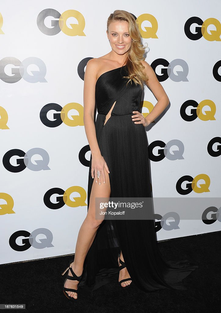 Actress Bar Paly arrives at GQ Celebrates The 2013 'Men Of The Year' at The Wilshire Ebell Theatre on November 12, 2013 in Los Angeles, California.
