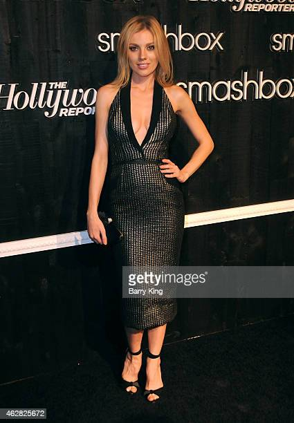 Actress Bar Paly arrives at Smashbox Studios Grand ReOpening Party at Smashbox Studios on February 5 2015 in Culver City California