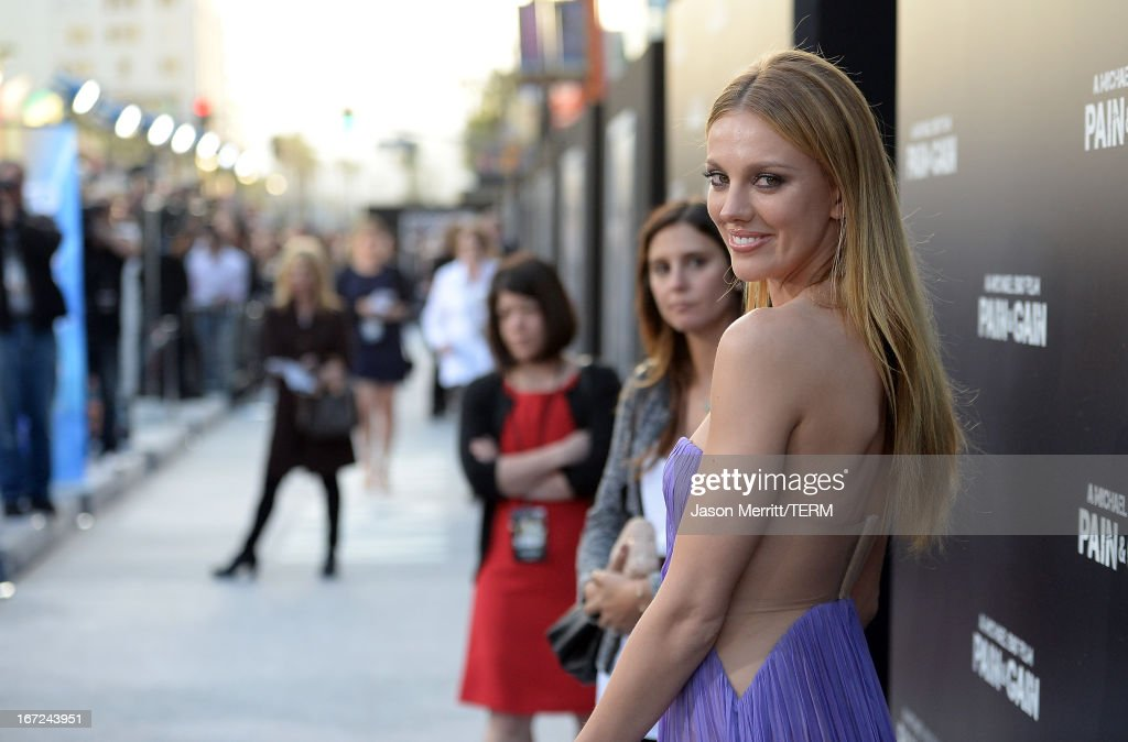 Actress Bar Paly arrives at the premiere of Paramount Pictures' 'Pain & Gain' at TCL Chinese Theatre on April 22, 2013 in Hollywood, California.