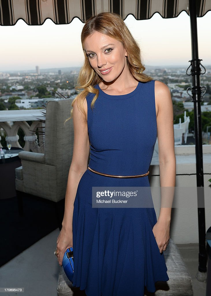 Actress Bar Paly attends Mary-Kate Olsen, Ashley Olsen, and InStyle Editor Ariel Foxman celebrate the launch of the Elizabeth and James Fall 2013 Handbag Collection at a cocktail party held at Chateau Marmont in West Hollywood on June 19, 2013.