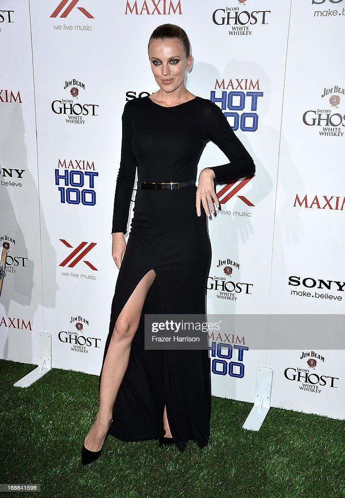 Actress Bar Paly attends the Maxim Hot 100 Party at Create on May 15, 2013 in Hollywood, California.