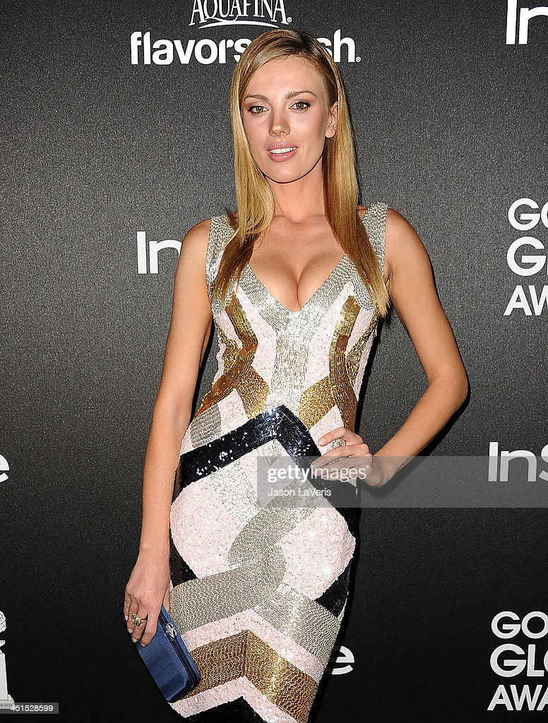 Actress Bar Paly attends the Miss Golden Globe event at Fig & Olive Melrose Place on November 21, 2013 in West Hollywood, California.