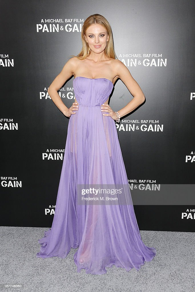 Actress Bar Paly attends the premiere of Paramount Pictures' 'Pain & Gain' at the TCL Chinese Theatre on April 22, 2013 in Hollywood, California.