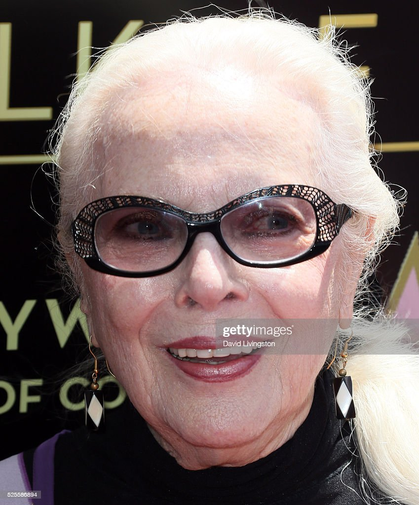Actress Barbara Bain attends her being honored with a Star on the Hollywood Walk of Fame on April 28, 2016 in Hollywood, California.