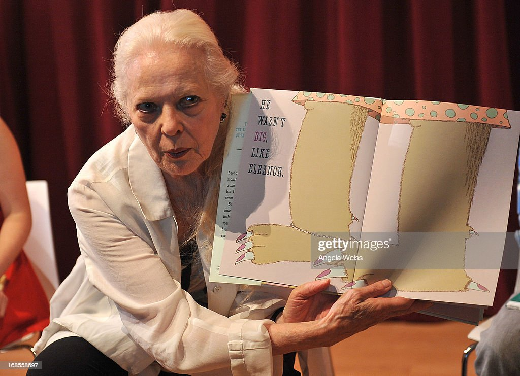Actress Barbara Bain reads at the Screen Actors Guild Foundation 20 Years Of BookPALS celebration at West Hollywood City Council Chamber on May 11, 2013 in West Hollywood, California.