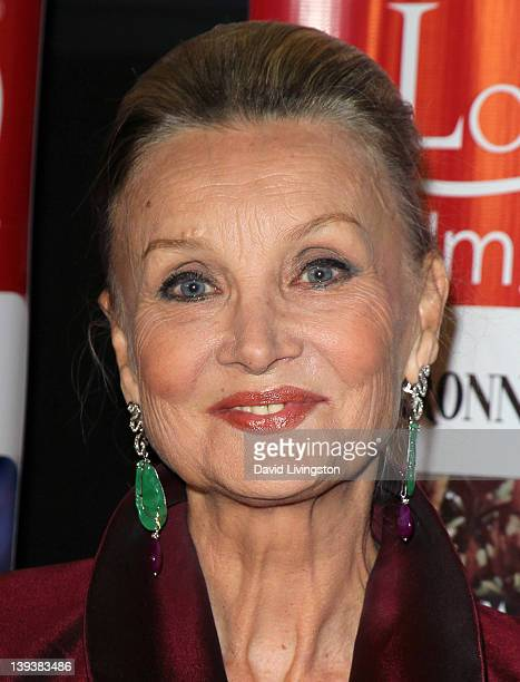 Actress Barbara Bouchet attends the 7th Annual Los Angeles Italia Film Fashion and Art Festival opening night gala at Mann Chinese 6 on February 19...