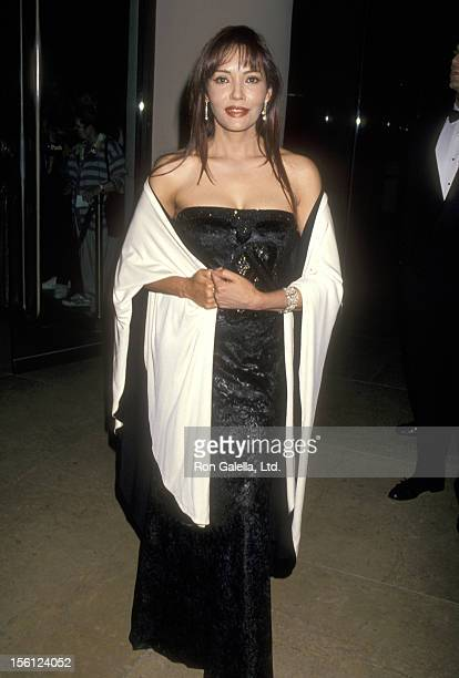 Actress Barbara Carrera attends the 1994 'Field of Dreams' Awards to Benefit the Michael Bolton Foundation and Barry Bonds Foundation on November 6...