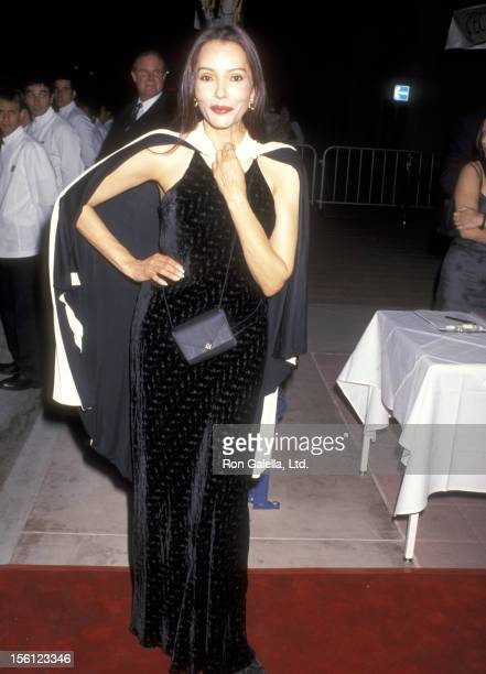 Actress Barbara Carrera attends the Grand Opening Celebration of EuroChow Restaurant on June 18 1999 at EuroChow Restaurant in Westwood California