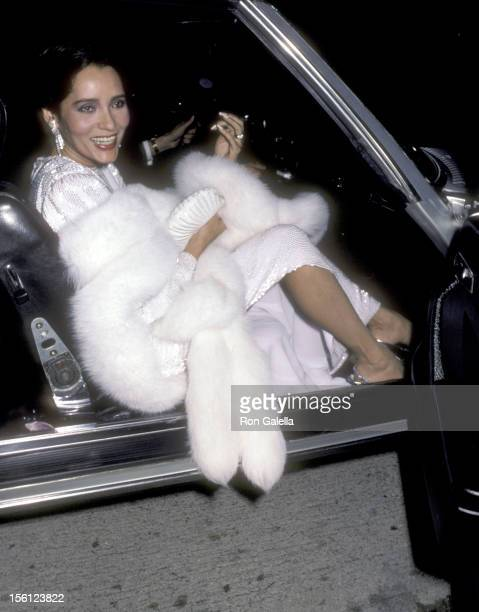 Actress Barbara Carrera attends the Opening Night Performance of the American Ballet Theatre on March 4 1986 at Shrine Auditorium in Los Angeles...