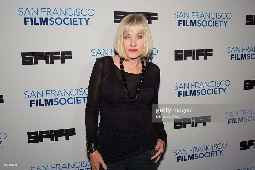 Actress Barbara Crampton arrives at 'You're Next' premiere at Sundance Kabuki Cinemas on April 27, 2013 in San Francisco, California.