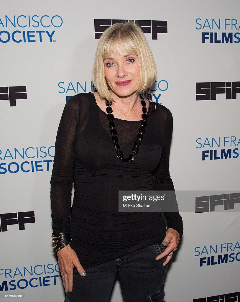 Actress Barbara Crampton arrives at 'You're Next' premiere at Sundance Kabuki Cinemas on April 27, 2013 in San Francisco, California.
