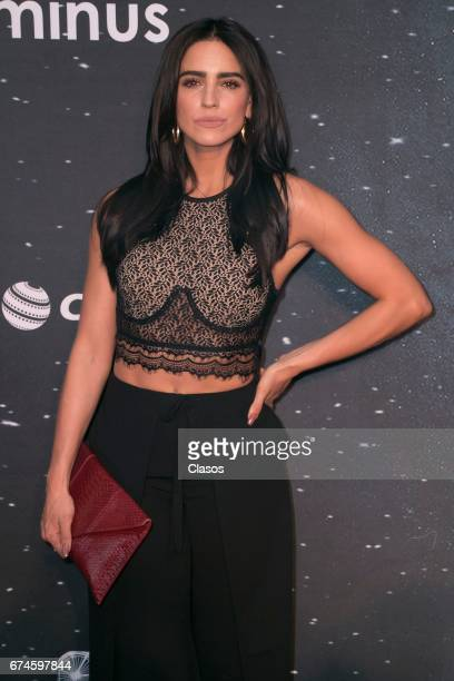 Actress Barbara De Regil poses during the 13th Luminus Awards at Telcel Theater on April 27 2017 in Mexico City Mexico