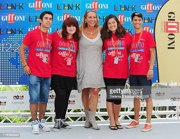 Actress Barbara De Rossi attends the 2011 Giffoni Experience on July 15 2011 in Giffoni Valle Piana Italy