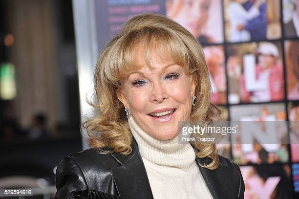 Actress Barbara Eden arrives at the premiere of 'Valentine's Day' held at Grauman's Chinese Theater