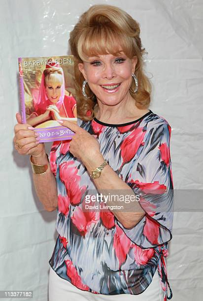Actress Barbara Eden attends the 16th Annual Los Angeles Times Festival of Books Day 2 at USC on May 1 2011 in Los Angeles California