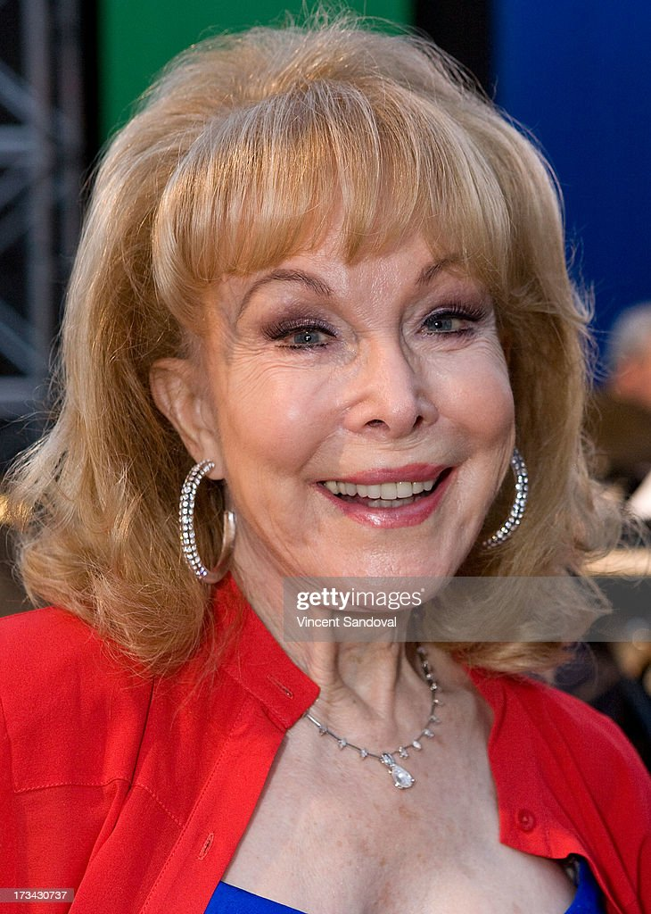 Actress <a gi-track='captionPersonalityLinkClicked' href=/galleries/search?phrase=Barbara+Eden&family=editorial&specificpeople=206974 ng-click='$event.stopPropagation()'>Barbara Eden</a> attends the Concern Foundation block party at Paramount Studios on July 13, 2013 in Hollywood, California.