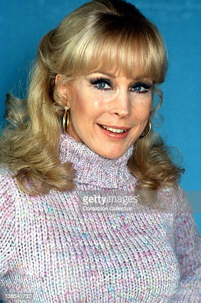 Actress Barbara Eden who is best known for her role in the sitcom 'I Dream Of Jeannie' poses for a portrait in circa 1980 in Los Angeles California
