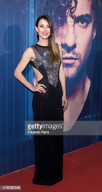 Actress Barbara Goenaga attends 'Tu y yo' by David Bisbal showcase photocall at Callao cinema on March 17 2014 in Madrid Spain