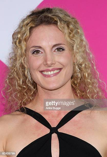 Actress Barbara Lanz attends a photocall to the new German television SAT1 telenovela 'Anna und die Liebe' on August 18 2008 in Berlin Germany