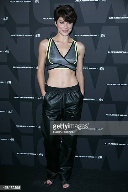 Actress Barbara Lennie attends the Alexander Wang X HM Party at 'But' Club on November 5 2014 in Madrid Spain