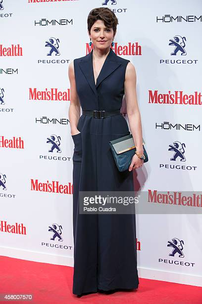 Actress Barbara Lennie attends the 'Men's Health' awards gala at Goya Theatre on October 28 2014 in Madrid Spain